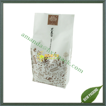 Wholesale high quality new products flat bottom kraft paper bag for organic food