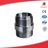 Precision fitting stainless steel mechanical coupling pipe joint