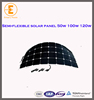 cheapest sun power semi high efficiency flexible solar panel made in china