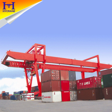 Container rail mounted gantry crane cost
