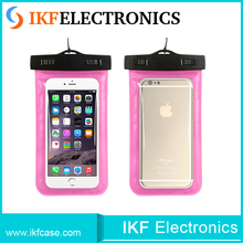 2016 hot new products waterproof pvc cell phone bag,cheap universal waterproof mobile phone case