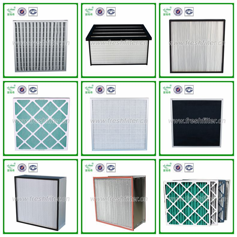 Deep box frame hepa filter box air filter