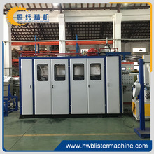 hot selling semi-auto plastic disposable trays thermoforming machine