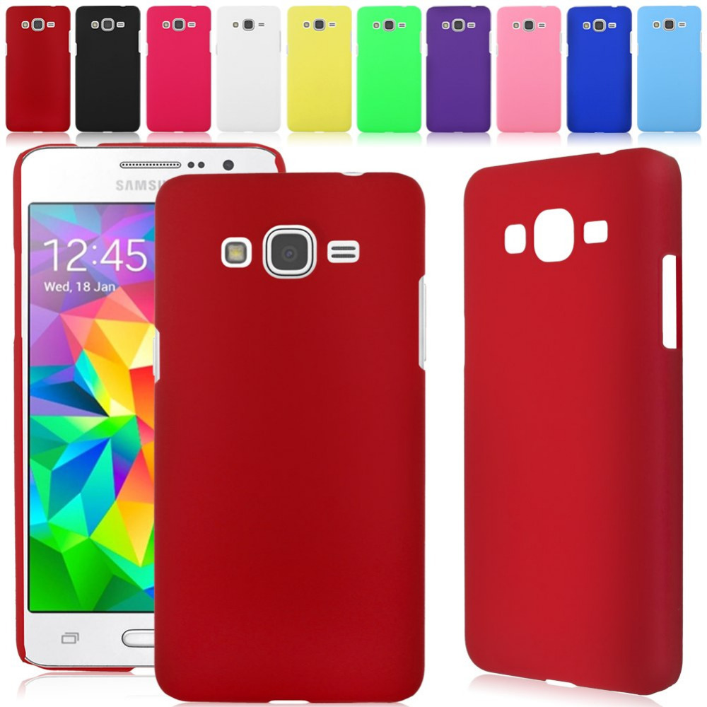 Newst Hard Rubberized Matte Cover Case For Samsung Galaxy Grand Prime SM-G530H G5308W