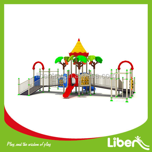 Plastic Play Ground Slide Type Material Water Outdoor Playground Equipment for sale