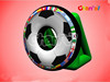 inflatable soccer goals football throwing games