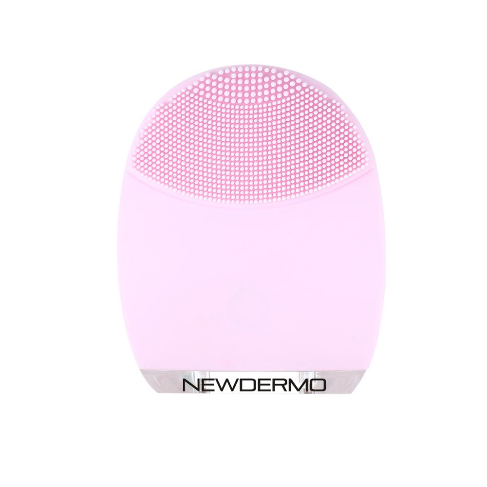 Popular mini skin care brushes silica gel for cleaning
