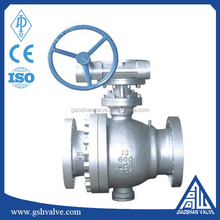 Worm Gear Operated Carbon Steel V type Ball Valve