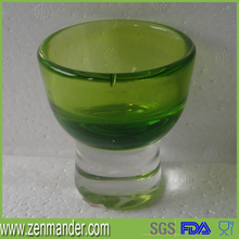 china factory color glass cup for drinking 1oz wine glass cup
