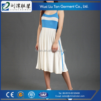 elastic strap dress casual long teen girls clothing