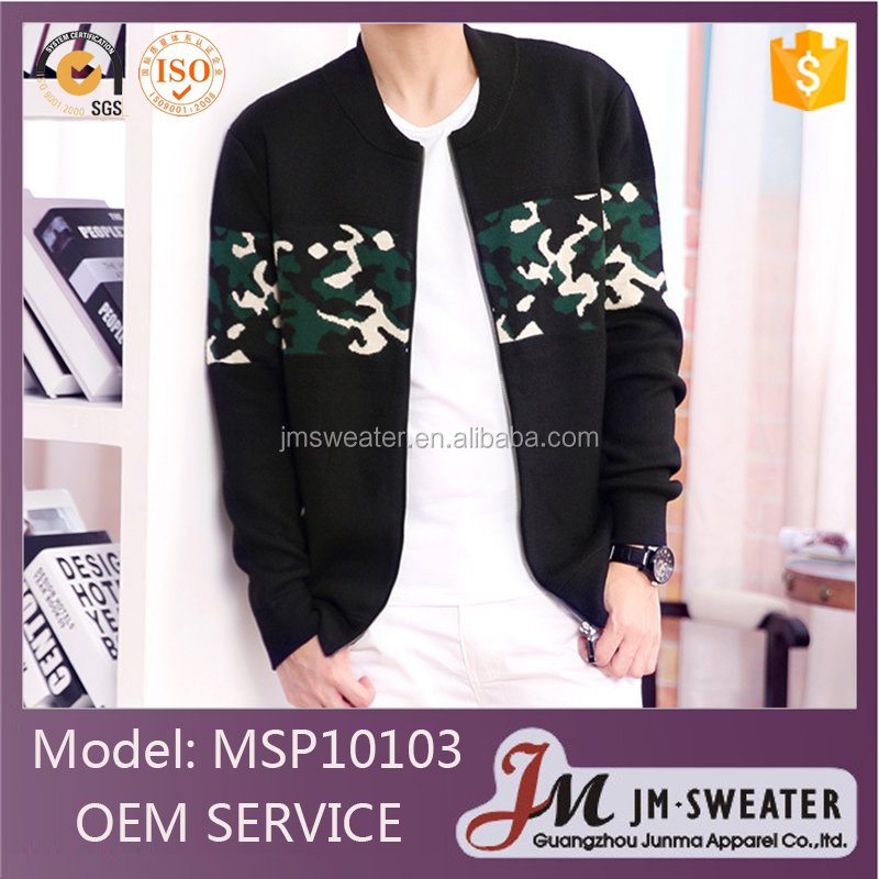 Fashion Korean Jacquard Knitted Man Sweater man cardigan 2014