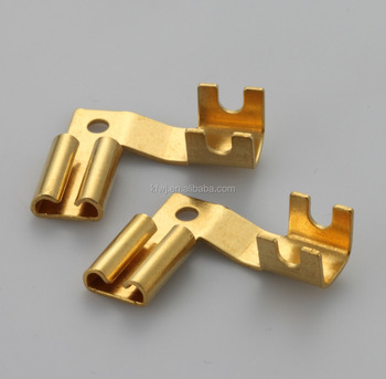 High Quality Custom nonstandard Precision Part Brass Electrical Terminals,contacts part
