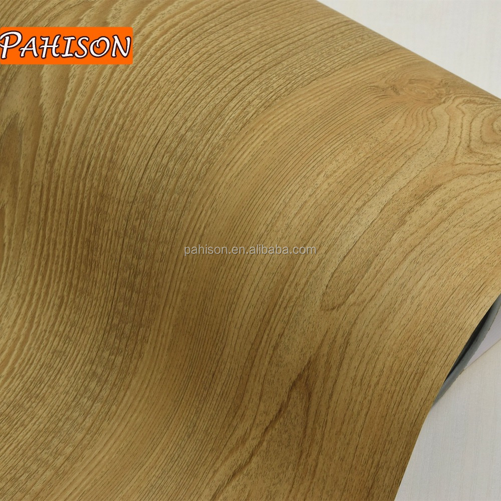Original Manufacturing Produced Wood Grain Decorative PVC Furniture Film