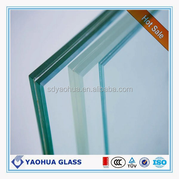 12mm thick laminated balustrade glass