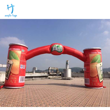 Giant outdoor event advertising inflatable arch