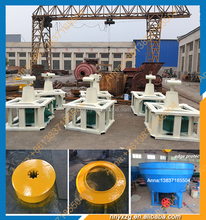 Stronger stand low invest wet pan mill machine popular in Sudan and Mauritania