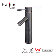 Haijun 2017 Manufacture Health Fancy Single Hole Bathroom Sink Faucets