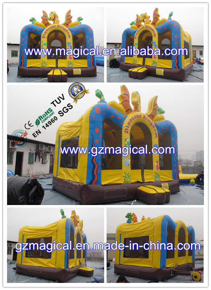 New design dragon inflatable bouncer / inflatable castle for sale
