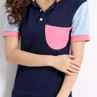 Apparel Women Casual Polo T Shirt