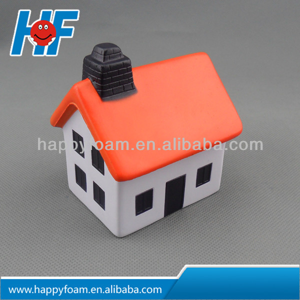 promotional squeez pu soft house press toy