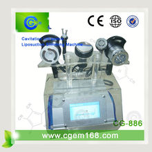 cavitation rf face lifting machine tripolar rf ultrasound cavitation water cavitation heater