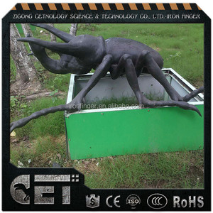 Cetnology- lively insects artificial animatronic big bugs for sale