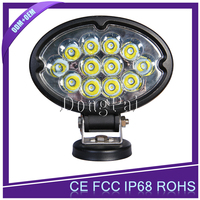 6 inch 36W 6000K Oval LED Off Road Work Lamp 12V 24V DC