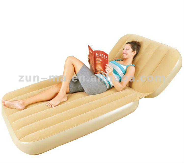Inflatable sleeper sofa mattress, best chaise lounge air bed