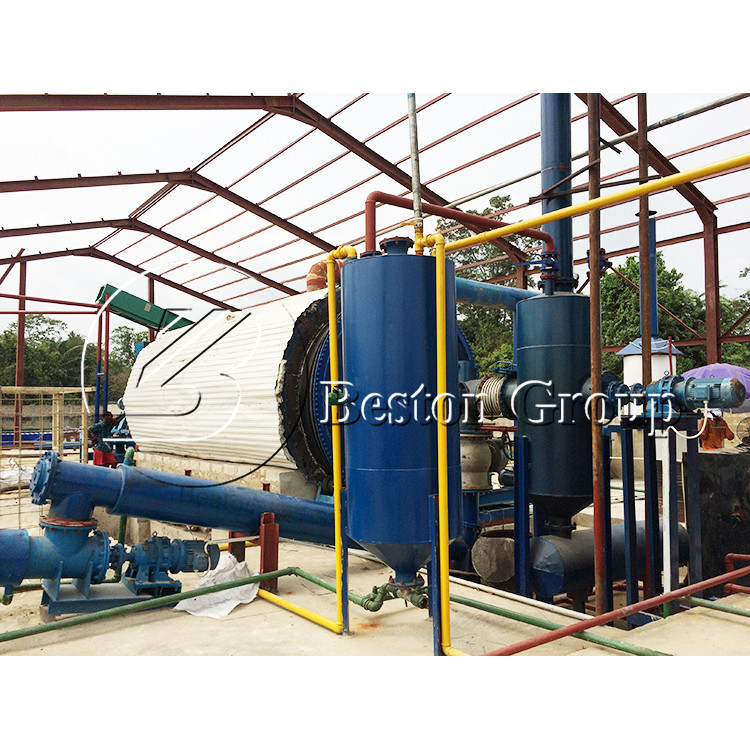 From china Economical and profitable waste tire pyrolysis plant