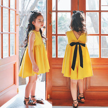 Newest Stylish Children Design Clothes XXX BF Photo Girls Summer Dress