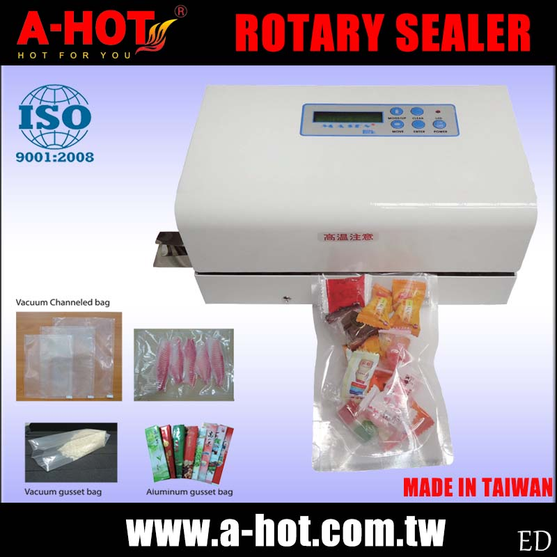 Electronic Thermostatic Control Rotary Sealer