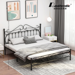 High Quality Family Simple Designs Metal Bed For Princess
