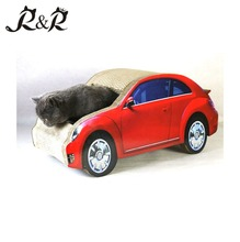 Cat Cardboard house in pet toys little car of cat Pet Toy place Cat Sleeping house Corrugated CT-4032