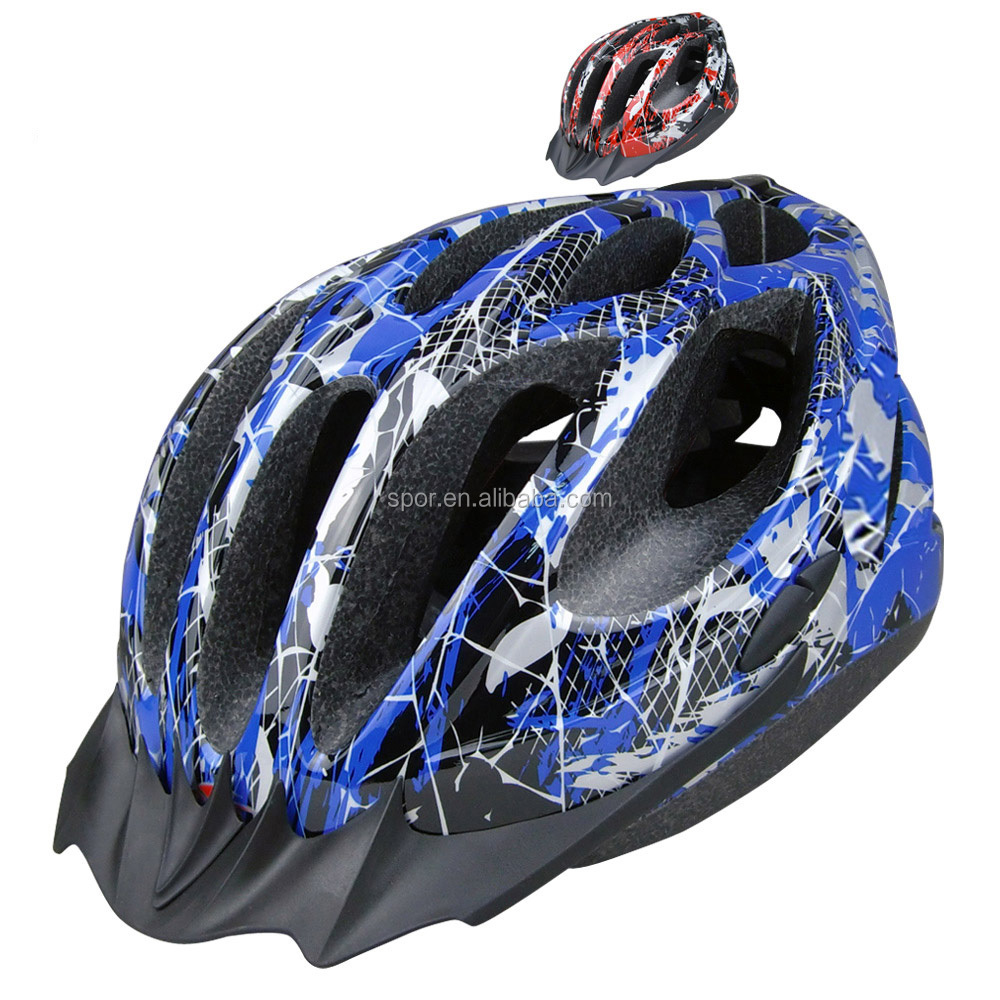 DOT Safety Solar Safety Helmet With Fan For Adult Bicycle Racing