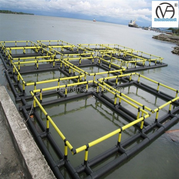 HDPE floating aquaculture fishing cage