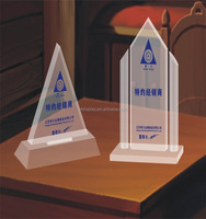 Triangle Acrylic Trophy for Gift