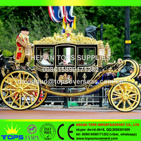 Cheap price Royal horse carriage for sale / tourism carriage for sale
