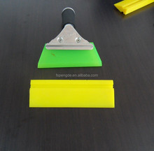 transparent squeegee for ceramic printing industry