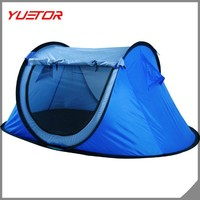 YUETOR Waterproof 2 Man Pop Up Outdoor Garden Festival Camping Beach Pitch Tent