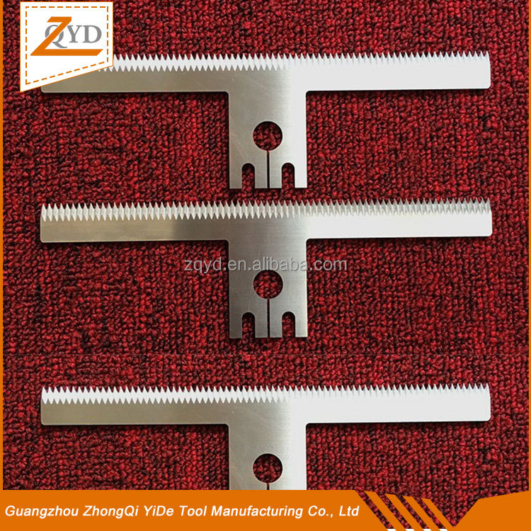 packaging knives.serrated tool.knife.High quality packaging machine tool