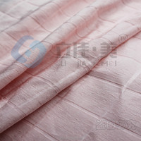 modern african print Checks jacquard silk linen fabric check jacquard linen fabric wholesale