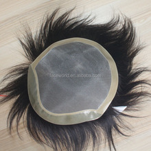 Factory wholesale human hair toupee top quality female toupee real hair toupee