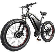 26 inch alloy frame 4.0 inch fat tire dual motor electric <strong>bike</strong>