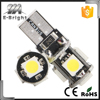 Main Products With high quality Of T10 5050 5SMD Canbus light