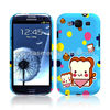 So cute Glossy printing UV Oil cell phone case for Samsung Galaxy S3