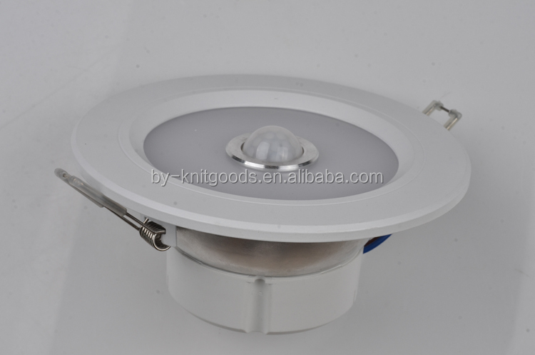 AC190V--250V 5w/7w/9w high power led sensor light with PIR made in china