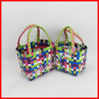 100%handmade colorful shiny PP bag children
