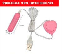 New mini USB Jump toys Lovely quiet strong vibration waterproof one Hop Flirt female sex toys