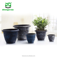 Wholesale Cheap Paint Plastic Flower Pots
