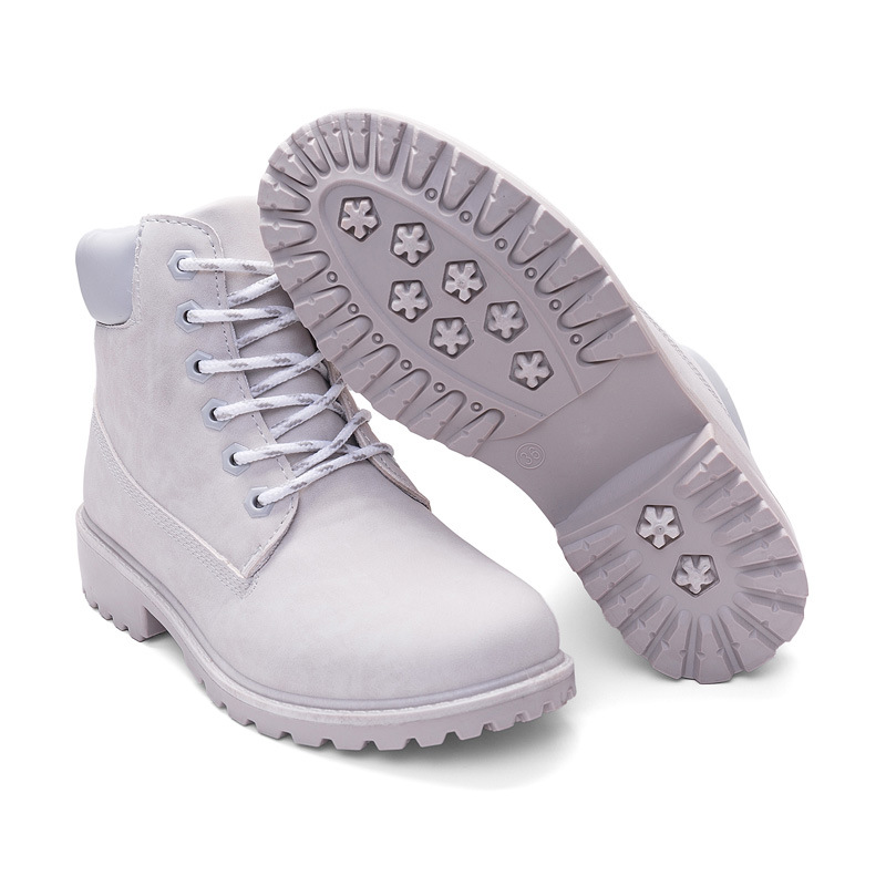 2017 Ladies flat shoes women snow boots short boots leather winter boots
